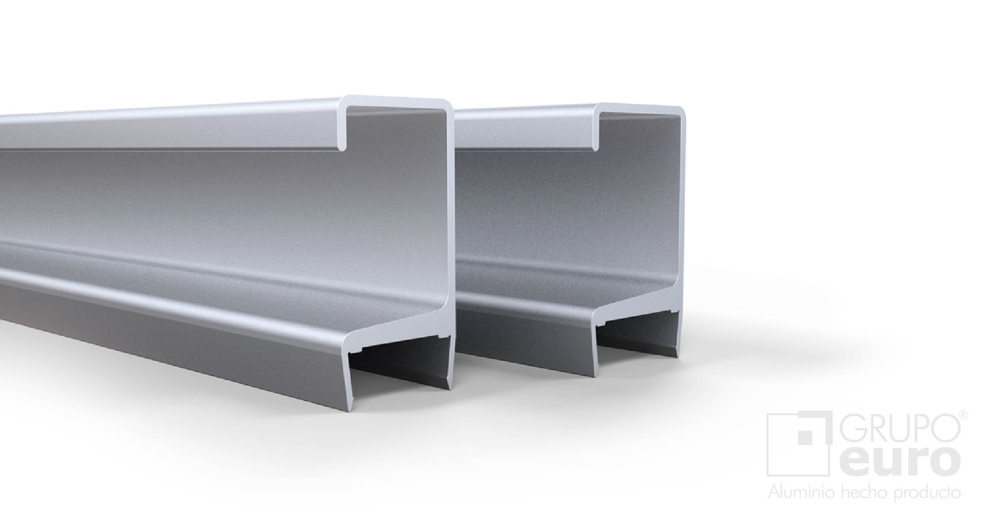 Perfil mj aluminio mc15 mc18 herrajes oeste for Perfiles aluminio para muebles