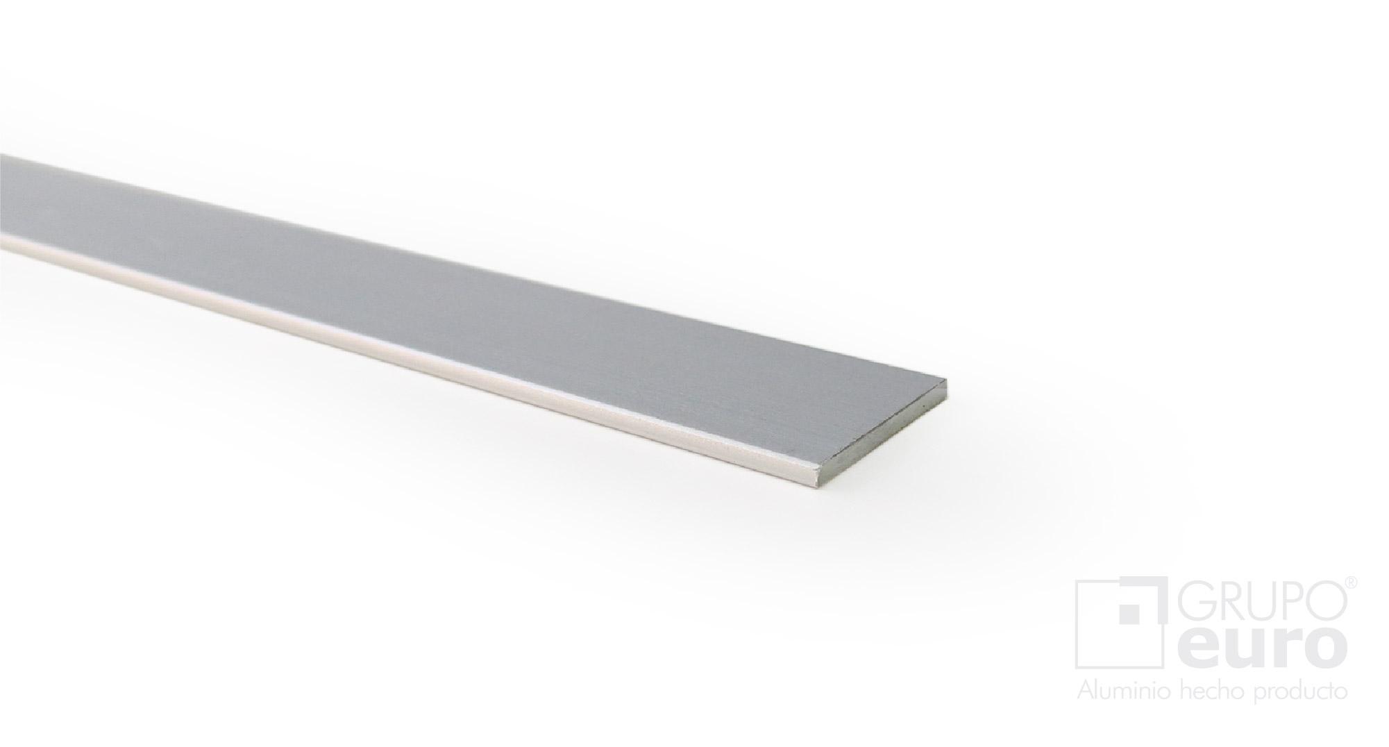 Perfil plano p19 p32 herrajes oeste - Perfil aluminio anodizado ...