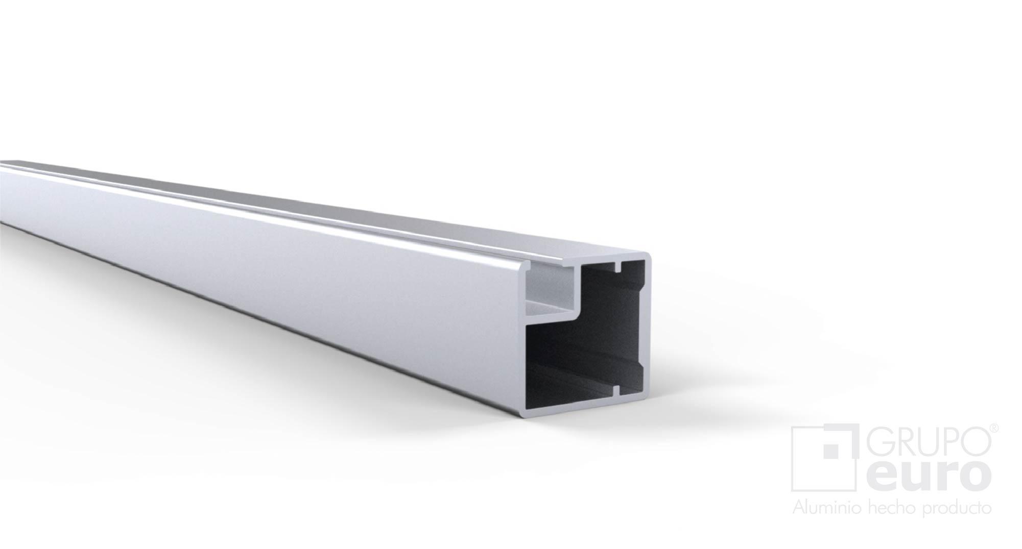 Perfil quadro para marco de puerta herrajes oeste for Perfiles aluminio para muebles