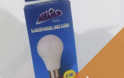 LAMPARA DE LED DE 5W Y 7W